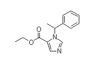 1-(1-Phenylethyl)imidazole-5-carboxylic